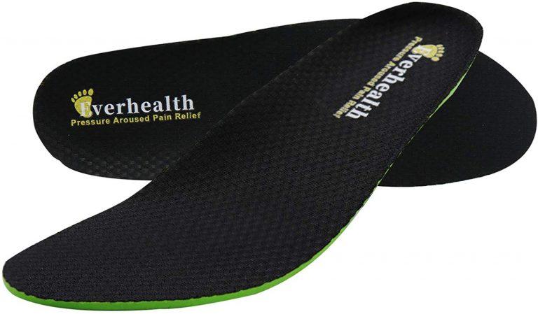Everhealth インソール 中敷き 抗菌消臭 衝撃吸収 土踏まずサポート